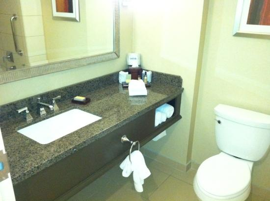 Bethesda North Marriott Hotel & Conference Center: clean bathroom