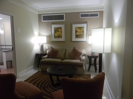 British Colonial Hilton Nassau : Living area