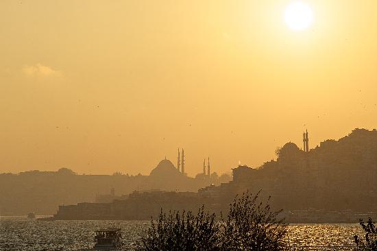 Four Seasons Istanbul at the Bosphorus: View from the room