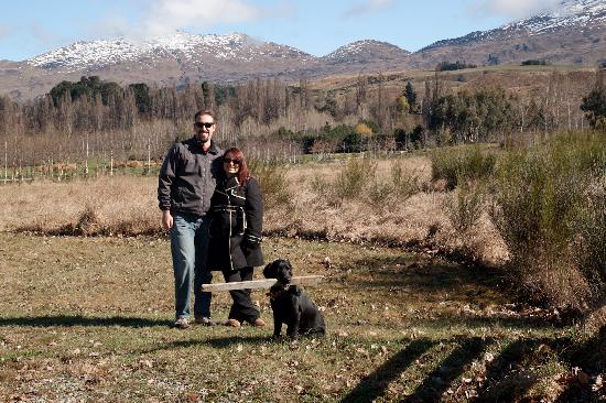 Bearsden Bed and Breakfast: Taking Bruno for a walk