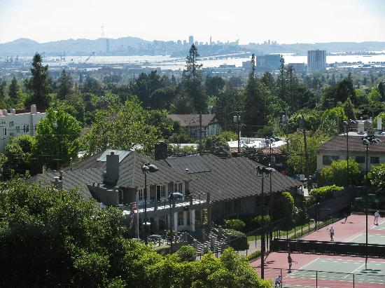 View Of San Francisco Cityscape Picture Of Claremont Hotel Club Spa Berkeley Tripadvisor