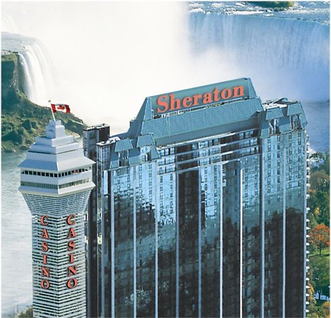 4-Diamond Sheraton on the Falls is located directly across from the Falls