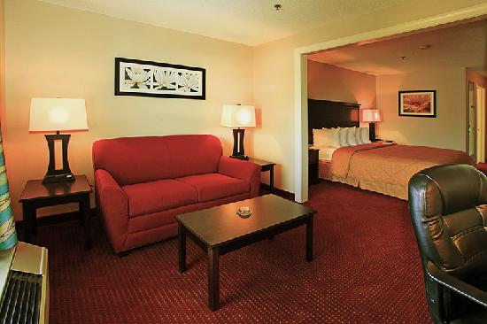 Comfort Inn & Suites: King room sitting area