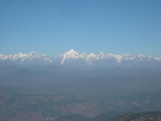 View from KMVN Resort, Binsar