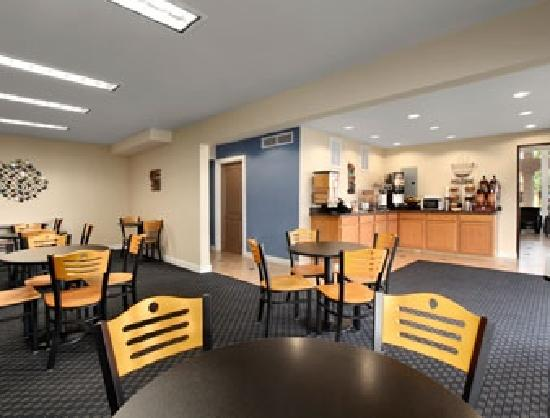 Days Inn Modesto: Breakfast room
