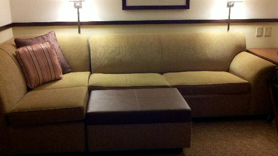 Hyatt Place Jackson/Ridgeland: Sofa