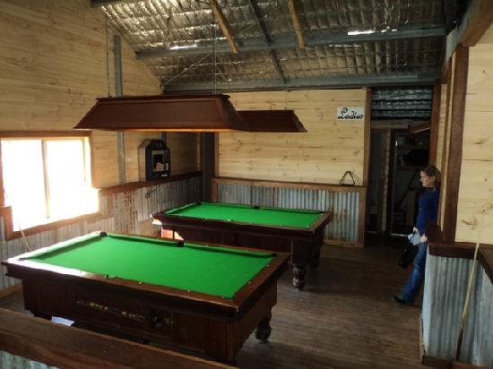 Chisholm, : Pool tables