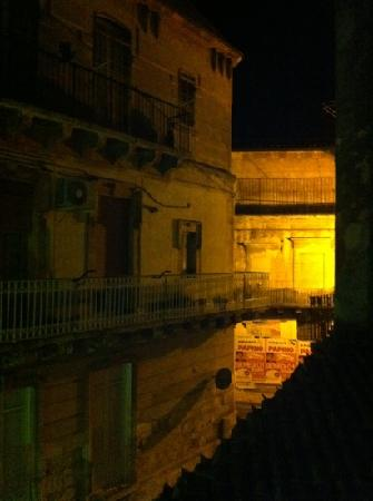 Ragusa Inn: vista dal balcone della stanza
