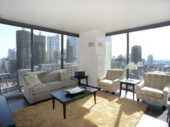 State and Grand by BridgeStreet Worldwide: Fully furnished living room