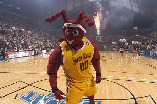 Fort Wayne, IN: As part of the NBA Development League, the Mad Ants provide major league entertainment