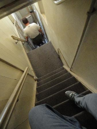 Amsterdam Central Bed and Breakfast: the funny steep stairs