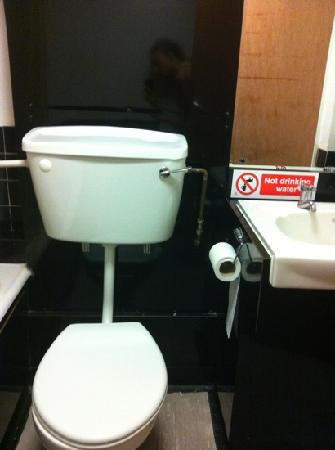toilet dirty inside picture of the keirby park hotel