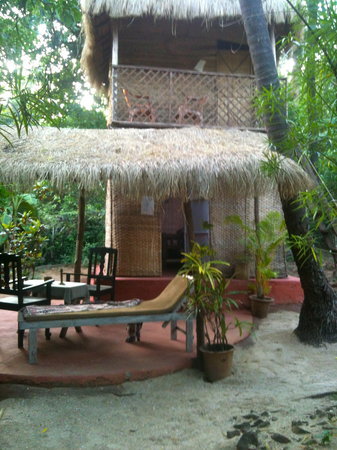 Canacona, India: Our hut.