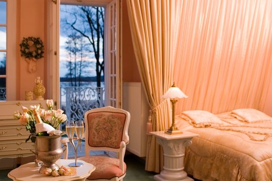 Bad Saarow, Germania: Ein Zimmer der Villa Contessa