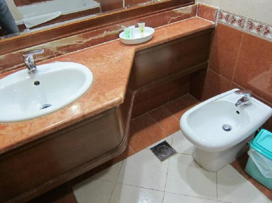 Moon Valley Hotel Apartments: Bidet was a nice touch.