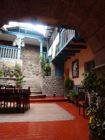 Hostal Suecia I: il patio