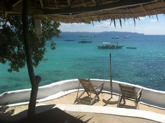 Spider House Resort: view from our bedroom!