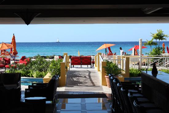 St Lawrence Gap, Barbados: View from the lobby