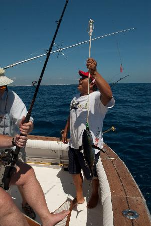 Deep sea fishing picture of cancun quintana roo for Deep sea fishing mexico