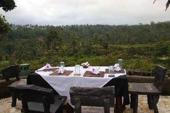 Dara Ayu Villas & Spa: Breakfast view