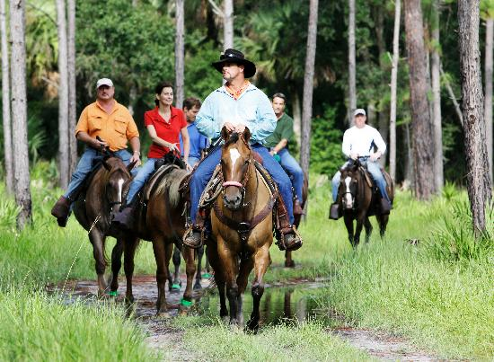 Ride horses the way Kissimmee Cracker cowboys did a century ago.
