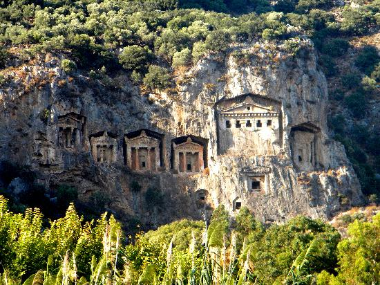 Dalyan Delta and Kaunos ancient tombs 3 - Picture of ...