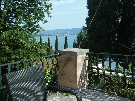 Villa Andor: Vista dalla terrazza