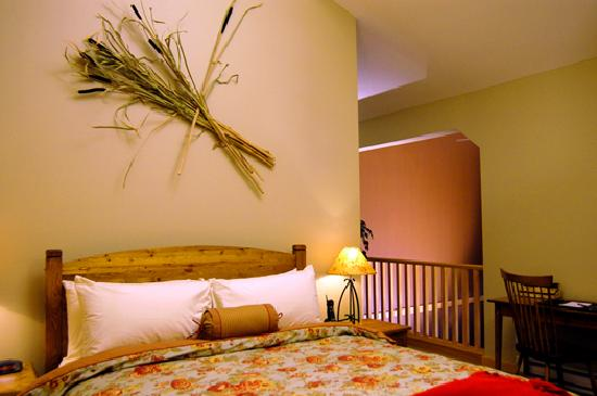 The Lodges at Canmore: Loft Bedroom