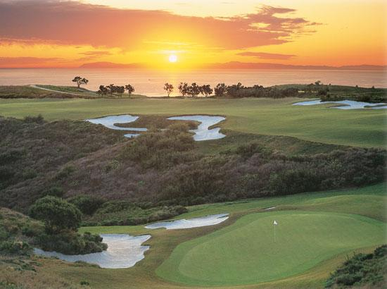 Newport Beach, CA: World class golf at Pelican Hill