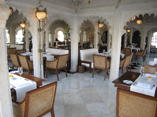 Taj Lake Palace Udaipur: One of two restaurants