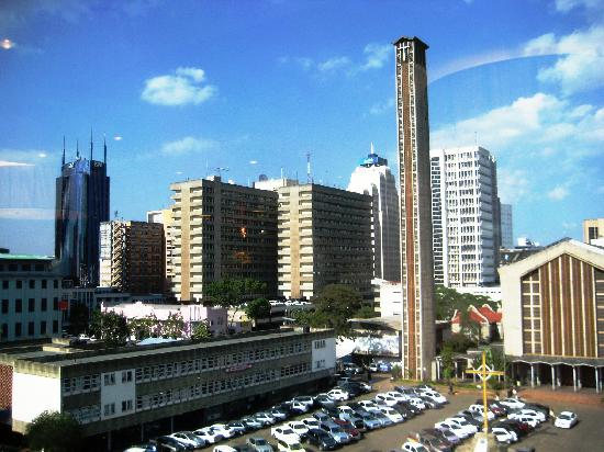 InterContinental Nairobi: View from room