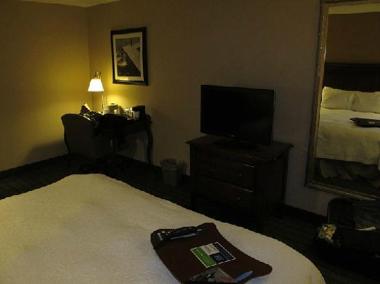 Hampton Inn Boston/Woburn: Room