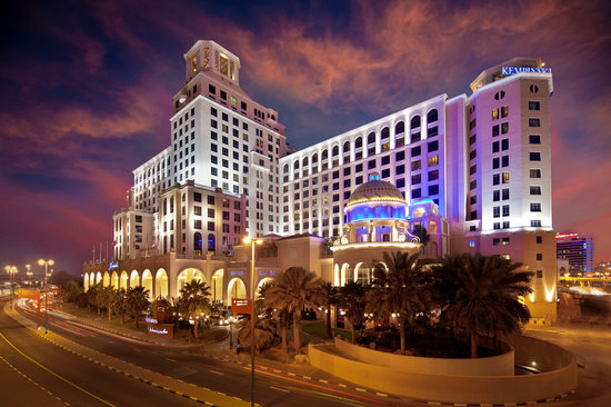 Kempinski Hotel Mall of the Emirates Exterior view