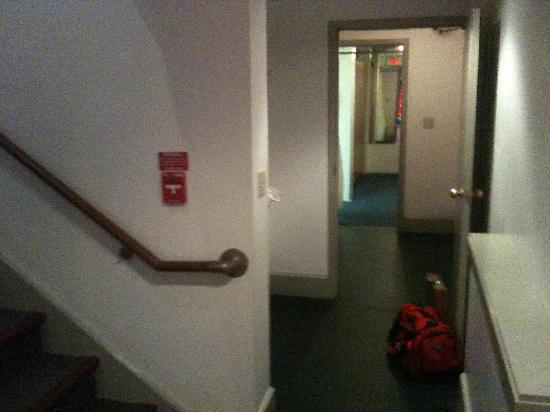 Westbrook, CT: View From the Hallway into the Locker Room