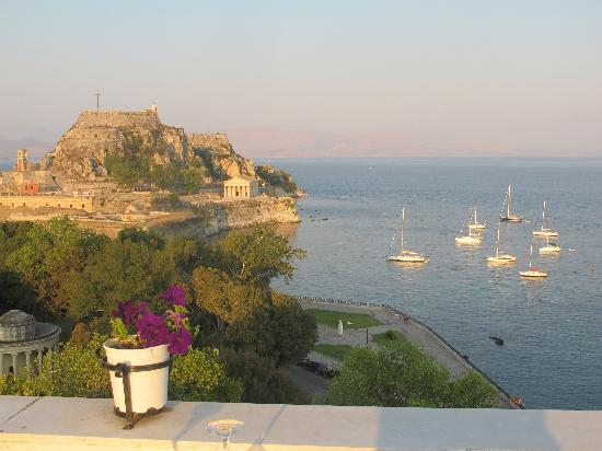 Cavalieri Hotel Corfu: View from rooftop