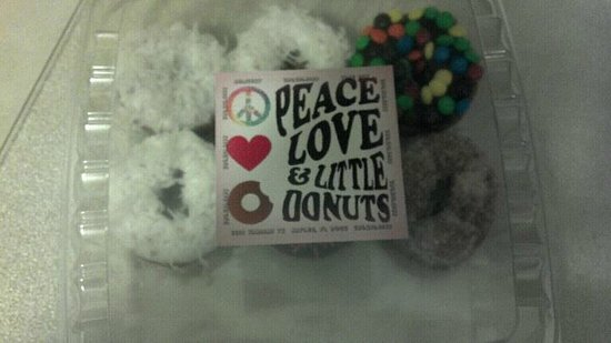 Peace, Love and Little Donuts