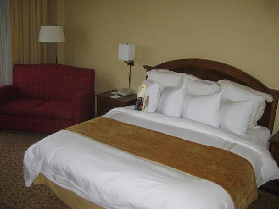Memphis Marriott: king bed