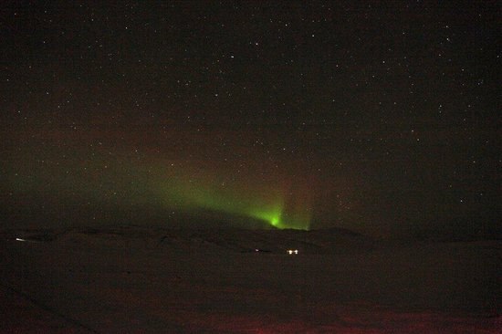 Northern Lights as we saw them, December 2011