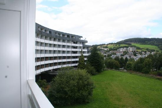Willingen, Germany: Hotel from our balcony