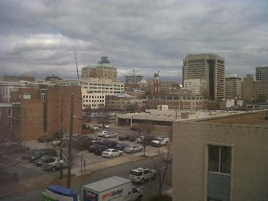 Holiday Inn Express Downtown Richmond: View from the room