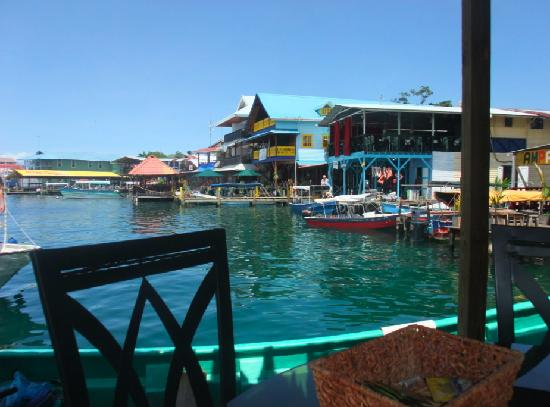 Bocas Condos: A restaurant on the water