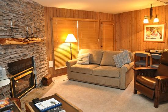 Mount Bachelor Village Resort: Living room