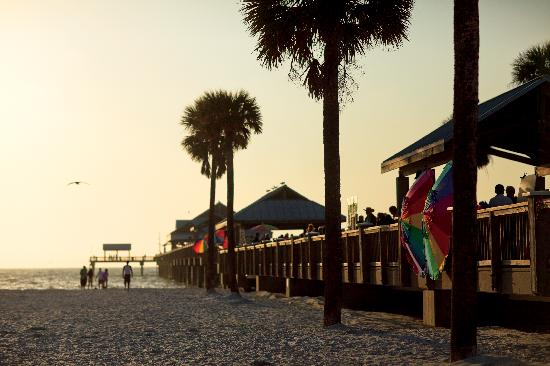 Clearwater Beach&#39;s Pier 60 is home to nightly sunset celebrations.