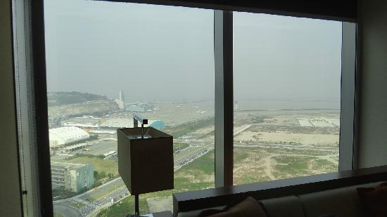 Grand Hyatt Macau: View from a Grand Deluxe Twin room on 22nd Floor