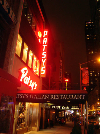 Patsy 39 s italian restaurant new york city midtown menu for Cheap romantic things to do in nyc