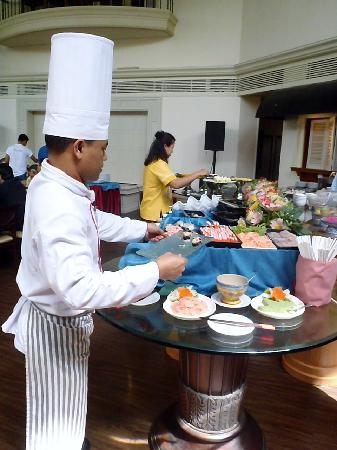 Hansa JB Hotel: lunch buffet