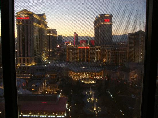 View From Our Go Deluxe Strip View Room Picture Of