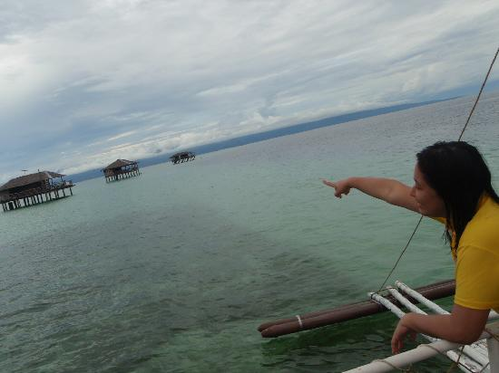 Negros Island, Philippines: point of the SAND BAR stretch