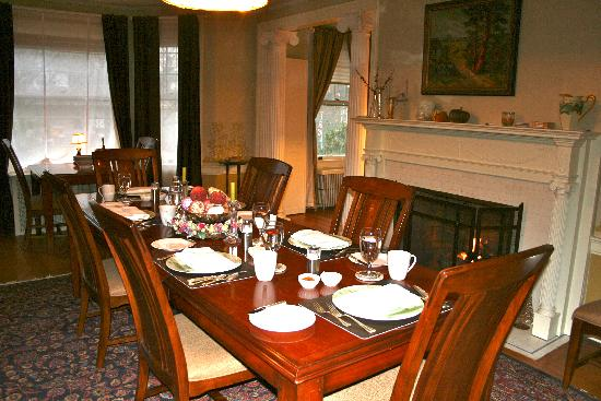The Post Cottage: The breakfast room
