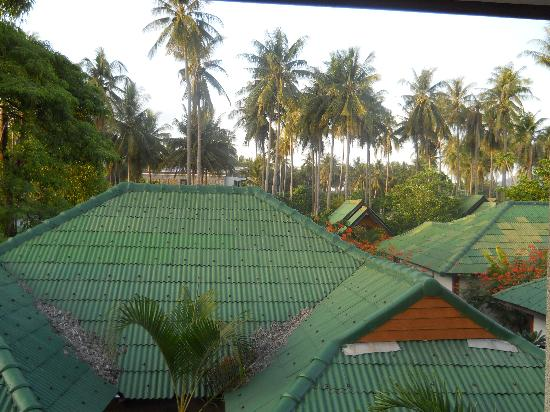 Lanta Riviera Bungalows: view from balcony